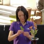 Ikebana tentoonstelling Noriko vd Linden 20151009 (1)